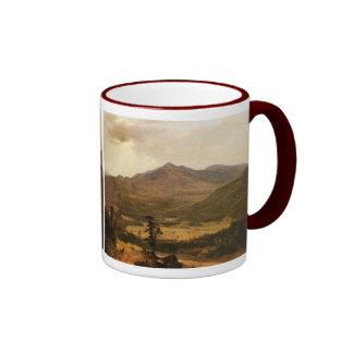 Adirondacks by Asher Brown Durand Ringer Mug