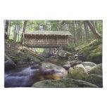 Adirondacks Covered Bridge Placement Placemat