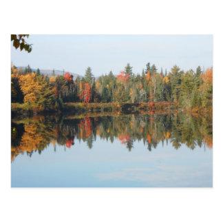 Adirondacks Upper Chub River North Elba Postcard