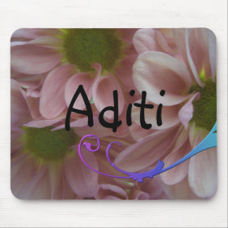 Aditi Girls name gift Mouse Pad