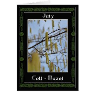 Adivinación de Oracle del Celtic del cumpleaños de Tarjeta De Felicitación