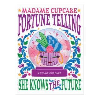 Adivinación de señora Cupcake Postales