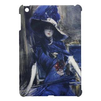 Adivine en mini caso del iPad azul iPad Mini Protector