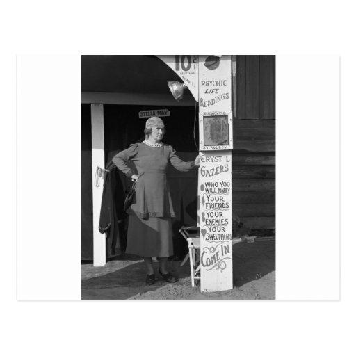 Adivino de Luisiana, 1938 Postal