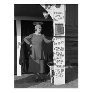 Adivino de Luisiana, 1938 Tarjetas Postales