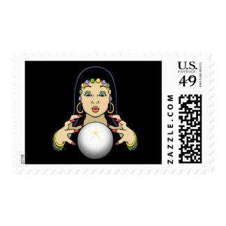 Adivino del carnaval sellos postales