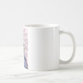 Adivino gitano arte alterado taza de café