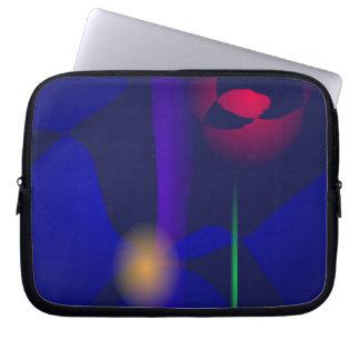 Adivino oscuro funda computadora