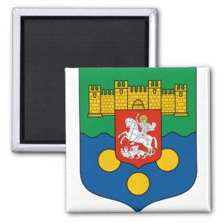 Adjara Coat of Arms detail 2 Inch Square Magnet