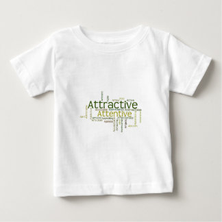 Adjectives to describe yourself starts with A Baby T-Shirt