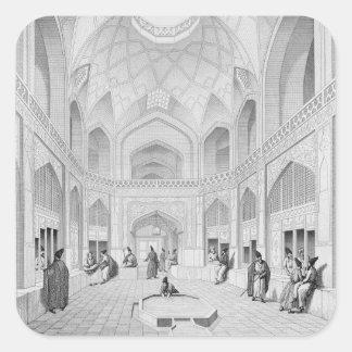 Adji Seid Hussein Bazaar, in Kashan, from 'Voyage Sticker