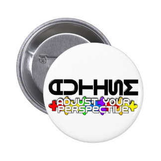 Adjust Your Perspective 2 Inch Round Button