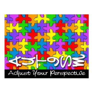 Adjust Your Perspective Postcard