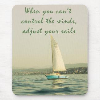 Adjust your sails mouse pad