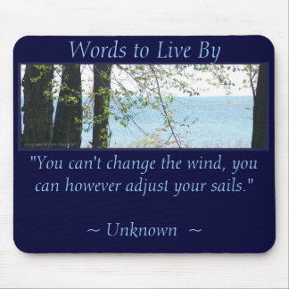 ADJUST YOUR SAILS, WTLB MOUSE PAD