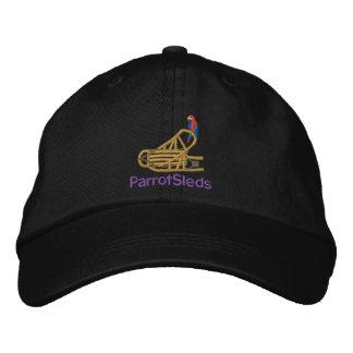 Adjustable Black Cap Embroidered Baseball Cap