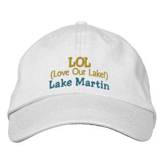 "Adjustable Cap ""LOL Love Our Lake!"" Lake Martin"
