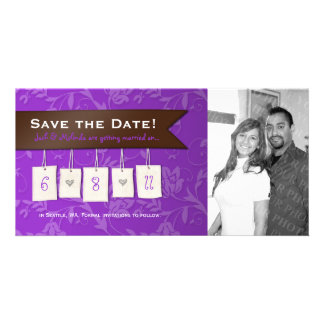 Adjustable Color: DIY Save the Date Photo Cards