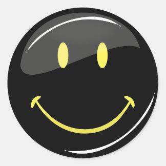 Adjustable Color Neon Smiley Stickers