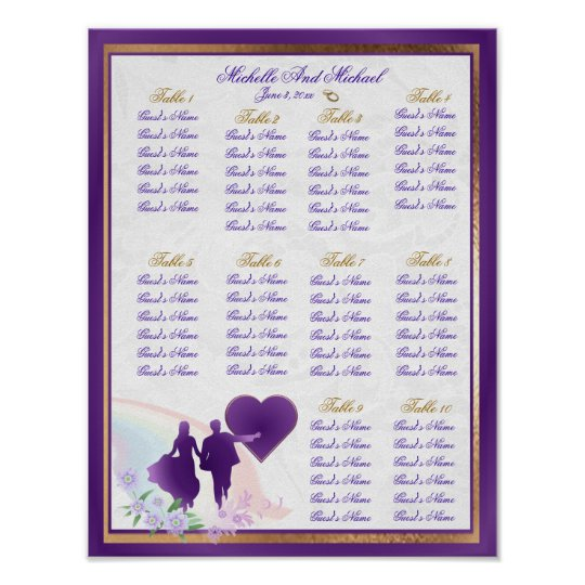 with 30 tables wedding seating charts zazzle