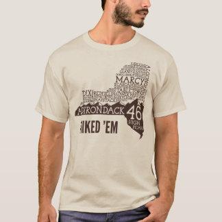 ADK46 Hiked Long Sleeve T-Shirt (Brown Logo)