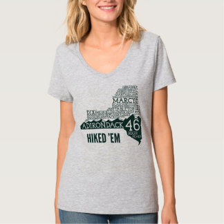 ADK46 Hiked V-Neck T-Shirt