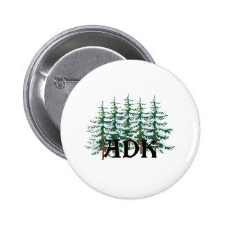 ADK Adirondack Pines Pinback Button