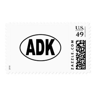 ADK Euro Oval Postage