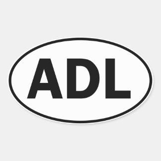 ADL Oval ID Oval Sticker