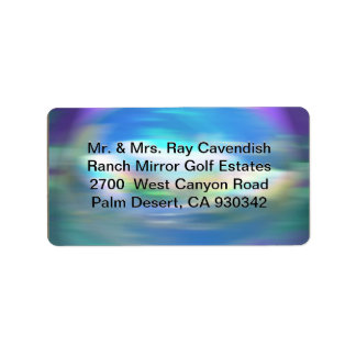 Adlam Juniper Custom Address Labels