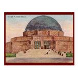 Adler Planetarium, Chicago 1933 Vintage Postcards