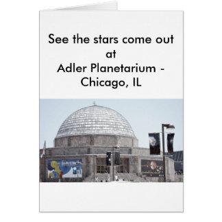 Adler Planetarium - Chicago, IL Greeting Card