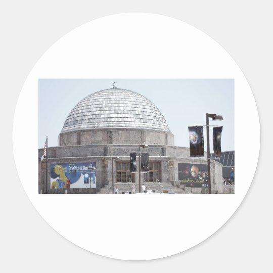 Adler Planetarium - Chicago, IL Classic Round Sticker