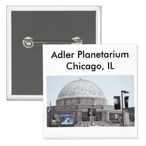 Adler Planetarium - Chicago, IL Pinback Button
