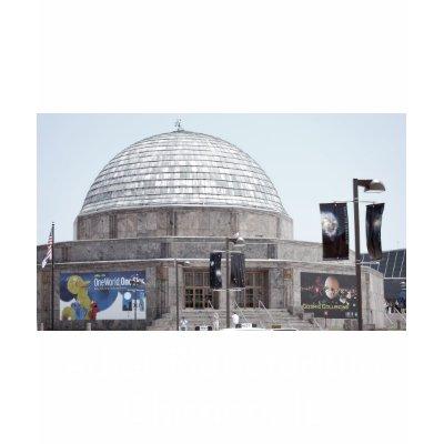 adler planetarium   chicago  il tshirt by dragonl8dy