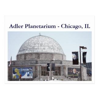 Adler Planetarium - ... Postcard