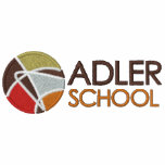 Adler School Embroidered Pullover 3 Embroidered Hoodie