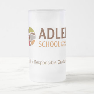 Adler School Frosted Glass Mug 2