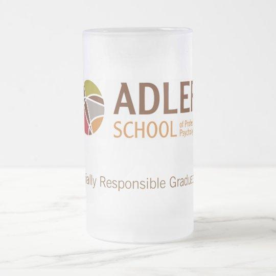Adler School Frosted Glass Mug 2