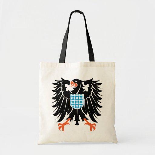 Adler Wappen Bayern eagle crest Bavaria Einkaufstasche