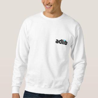 adlib (ad lib) wear sweatshirt