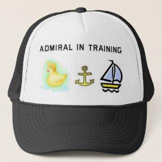 Admial in training trucker hat