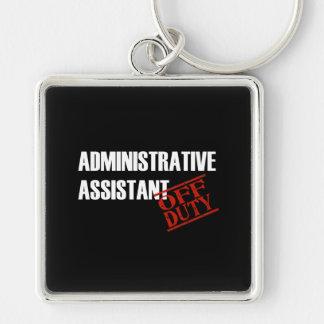 Admin Assist Dark Keychain