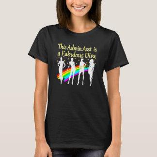 ADMIN ASST IS A FABULOUS DIVA T-Shirt