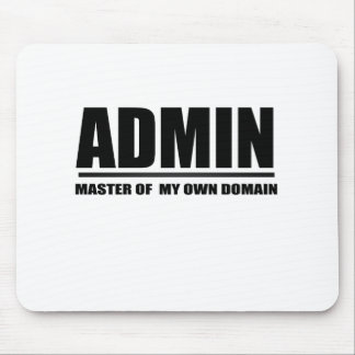 admin mouse pad