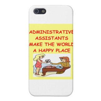 adminiatrative assistants iPhone 5/5S cover