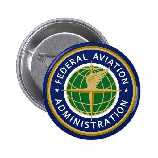 Administración Federal de Aviación FAA Pins