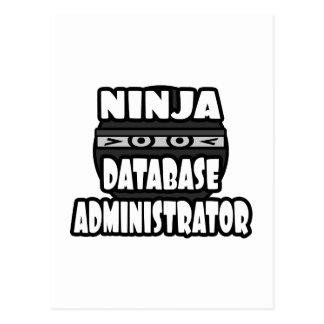 Administrador de base de datos de Ninja Postal