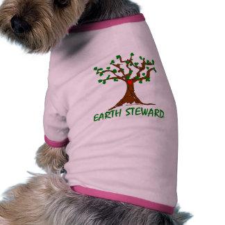 Administrador de la tierra ropa de perro