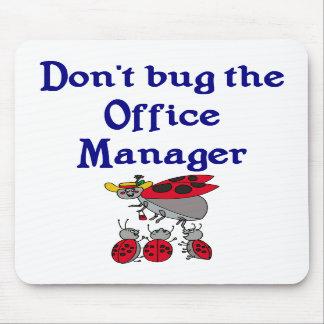 Administrador de oficinas Mousepad Alfombrilla De Ratones